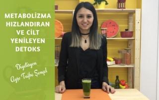 Metabolizma Hızlandıran Detoks Tarifi by Diyetisyen Ayşe Tuğba Şengel