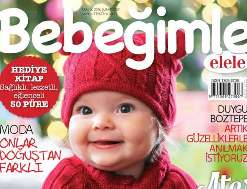 Bebeğimle Elele Dergisi Aralık Ayı