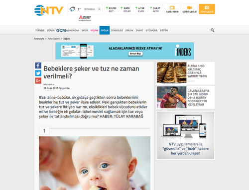 Bebeklere Şeker ve Tuz Ne Zaman Verilmeli? (NTV.com.tr)