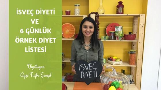 İsveç diyeti listesi - Diyetisyen Ayşe Tuğba Şengel