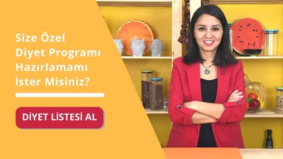 Diyet Listesi Al - Cepte Diyetisyen - Diyetisyen Ayşe Tuğba Şengel
