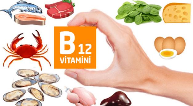 B12 vitamini besinler